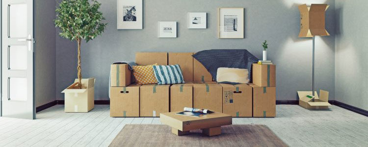 meuble en carton gag ou tendance d co s rieuse. Black Bedroom Furniture Sets. Home Design Ideas