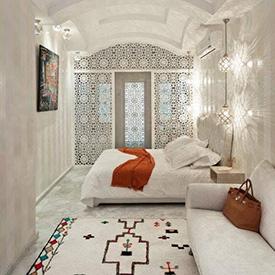 Décoration intérieure arabesque