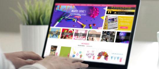 des articles et des accessoires de fete en ligne