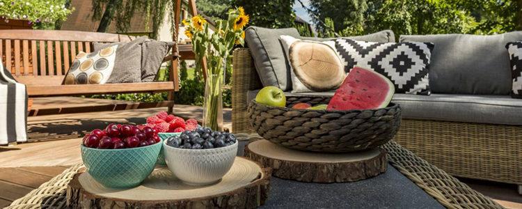 Choix de mobilier de jardin